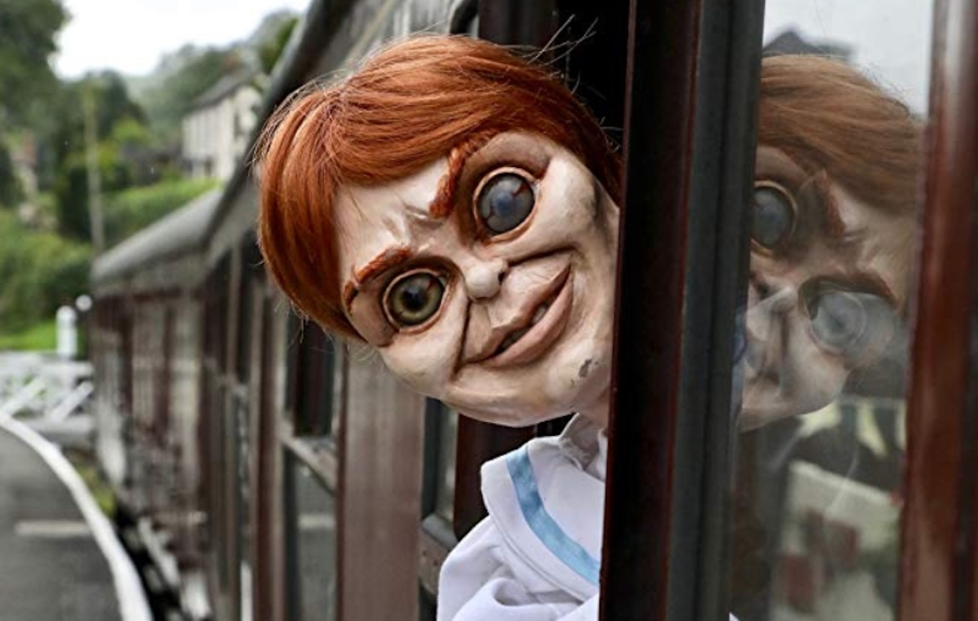 Robert the doll from the film franchise