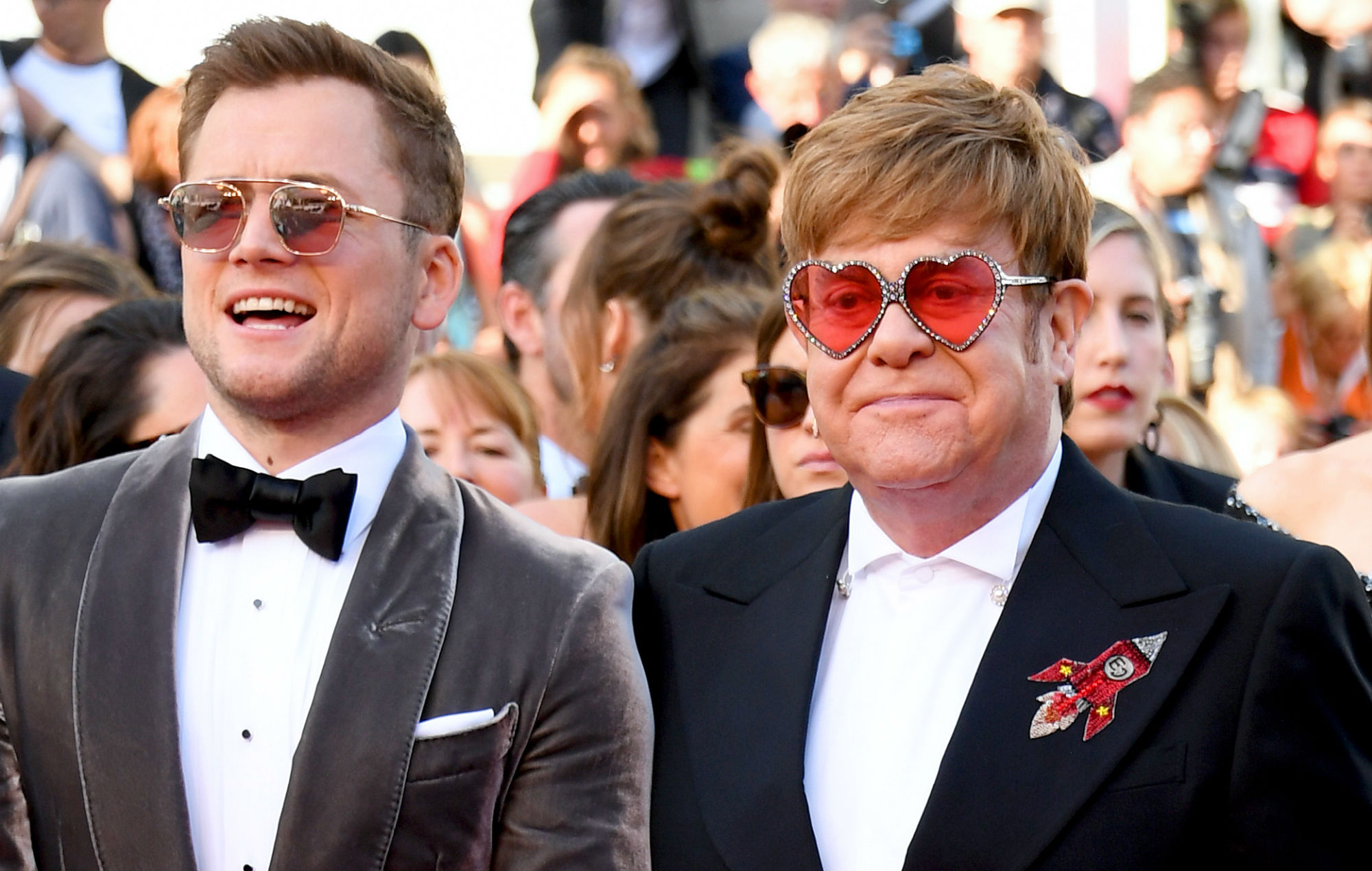Elton John And Taron Egerton Surprise Fans By Performing Your Song