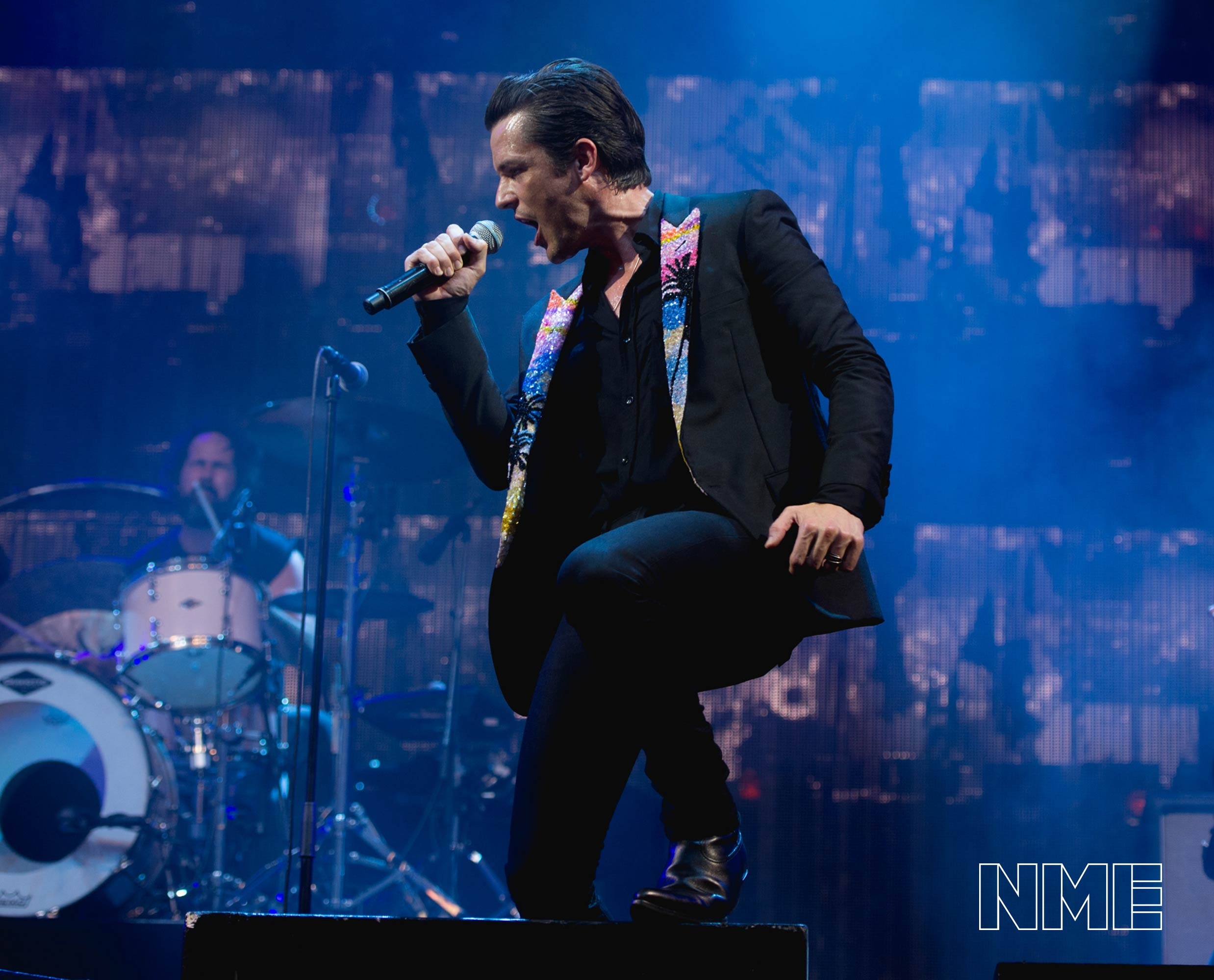 The Killers at Glastonbury