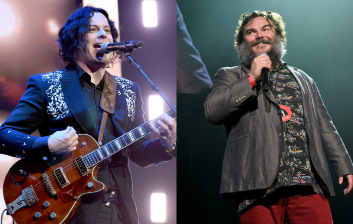 Jack White and Jack Black live