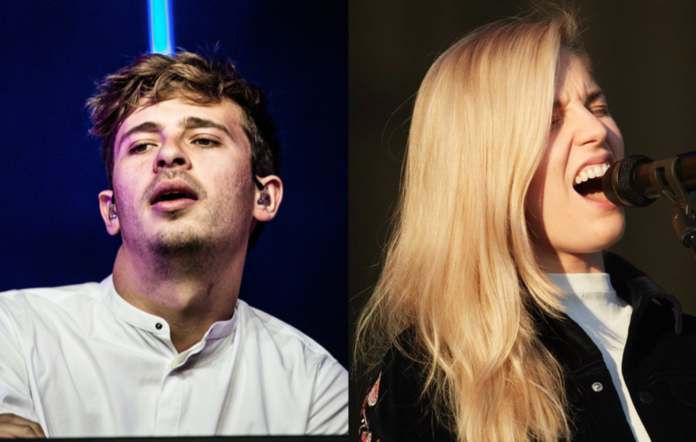 Flume and Hannah of London Grammar