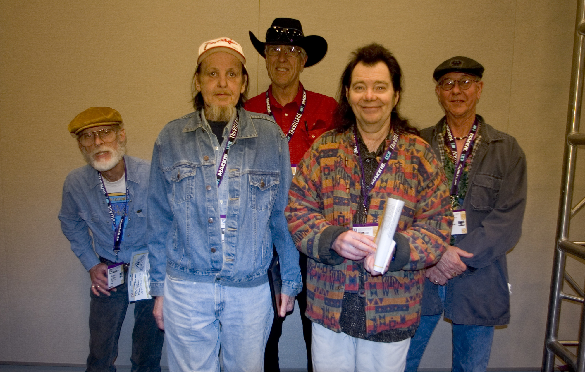 Erickson and his band, the 13th Floor Elevators