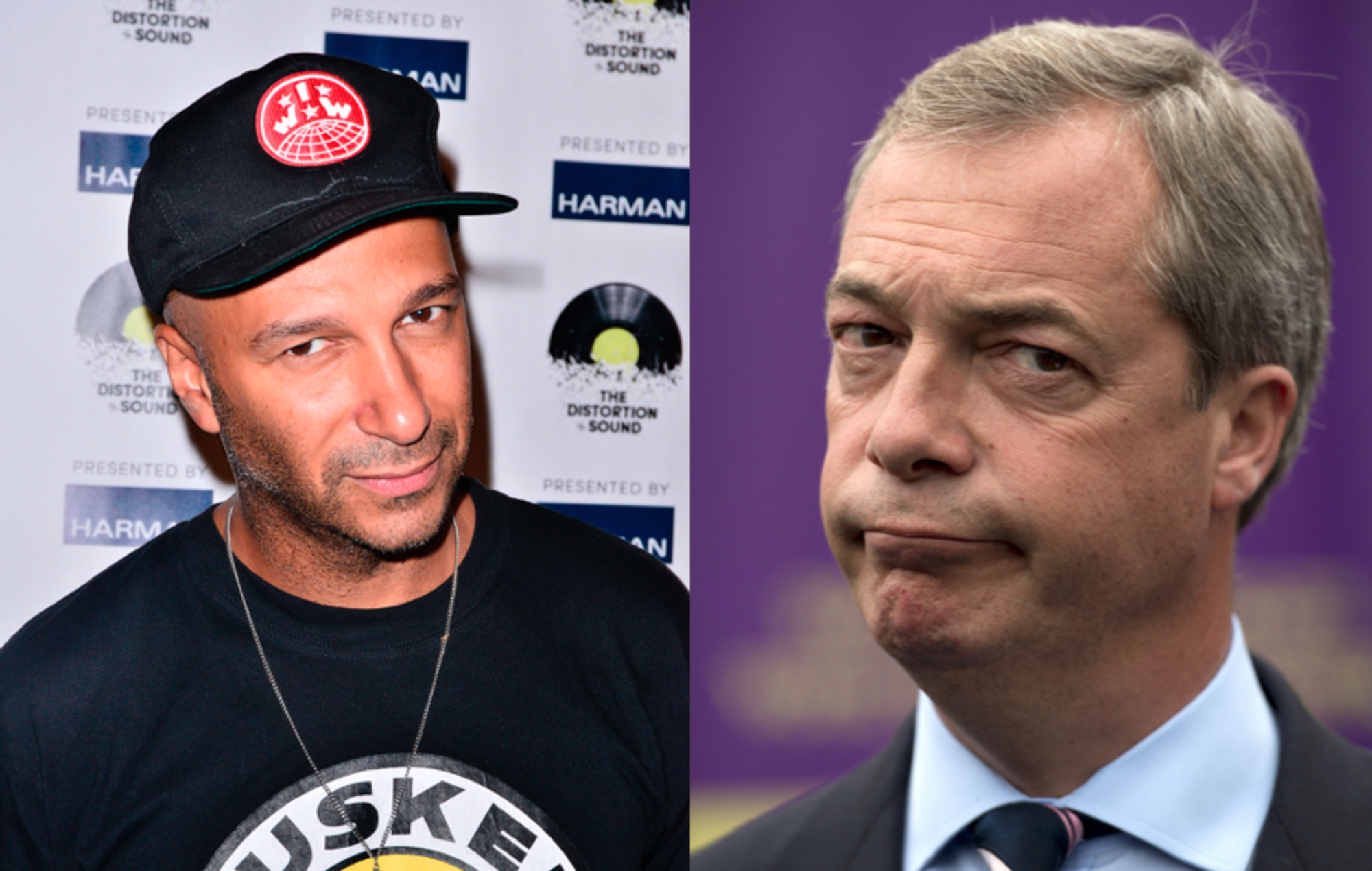 Tom Morello and Nigel Farage
