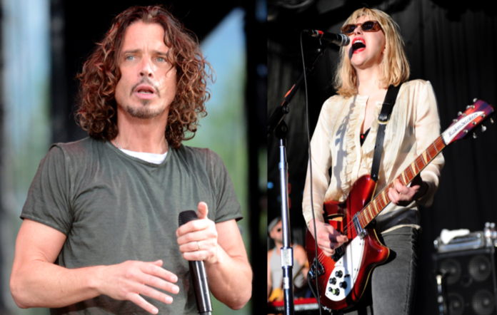 Chris Cornell and Courtney Love