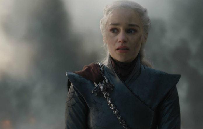 Daenerys Targaryen in 'The Bells' episode of 'Game of Thrones' season 8