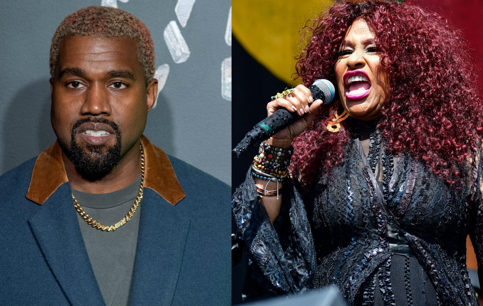 Kanye West Chaka Khan Through The Wire Fire