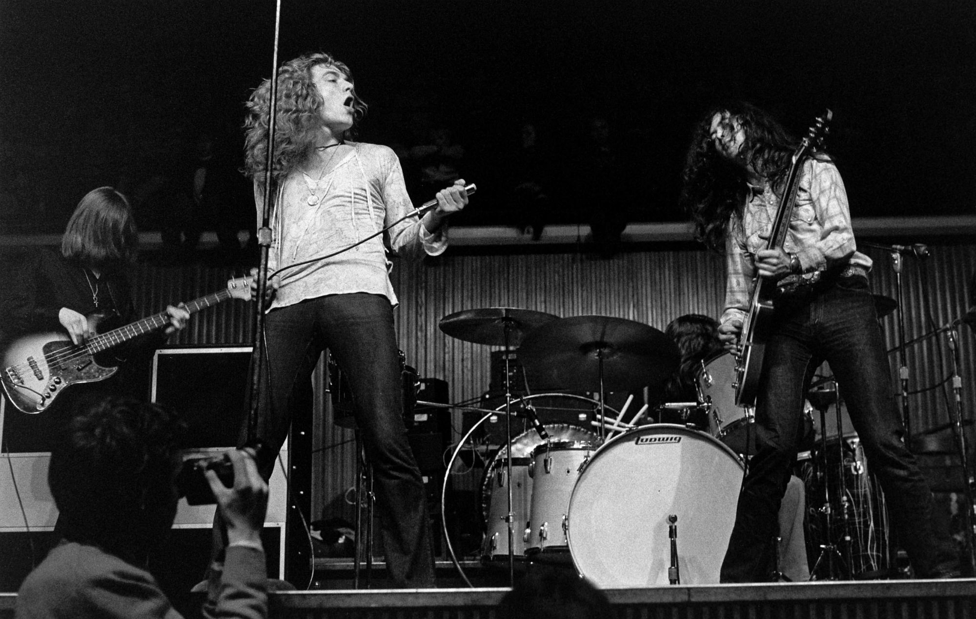 Photo of LED ZEPPELIN; ZepE 19A, February 28, 1970 in Denmark