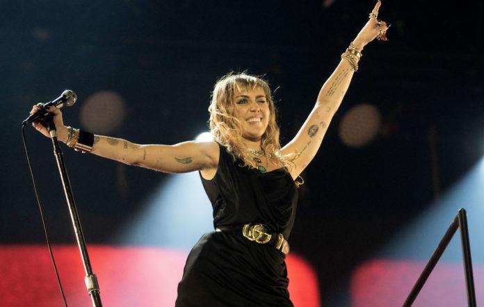 Miley Cyrus performs at Radio 1'as Big Weekend
