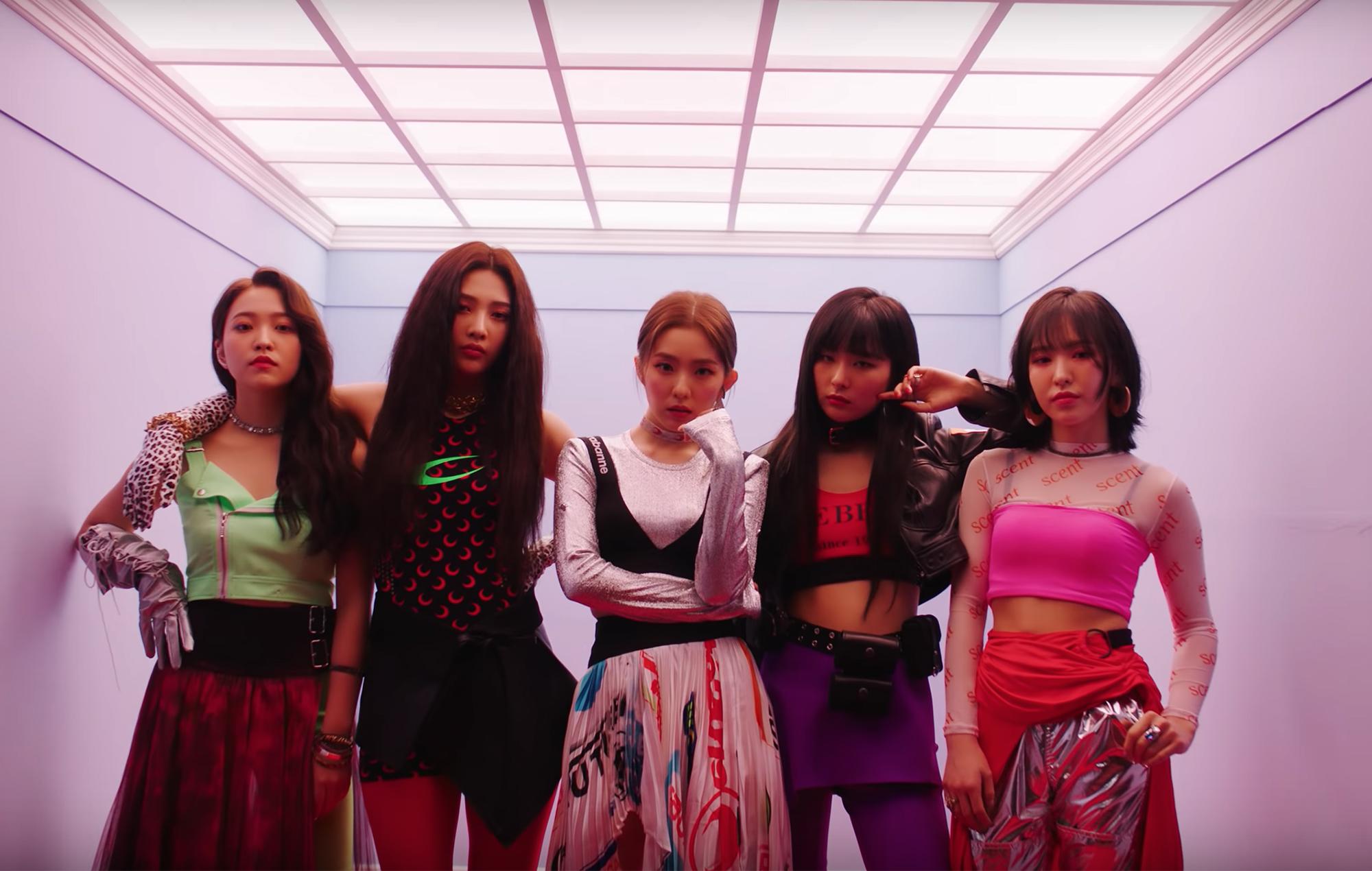 Red Velvet Zimzalabim music video