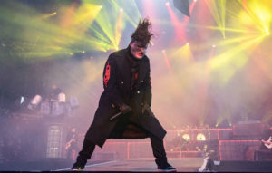 Corey Taylor of Slipknot performs on stage during day 2 of Download festival 2019