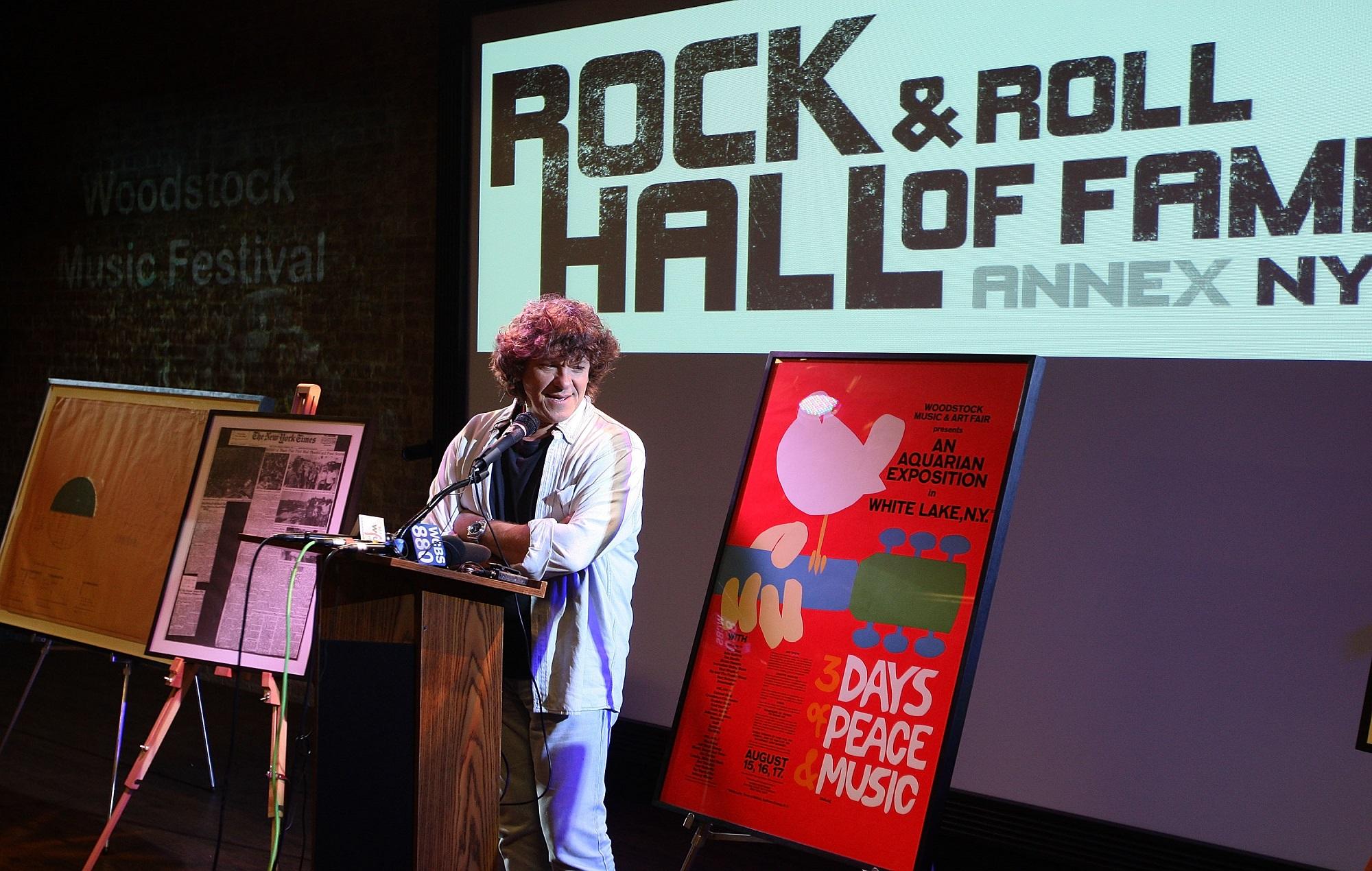 Woodstock Music Festival organiser Michael Lang