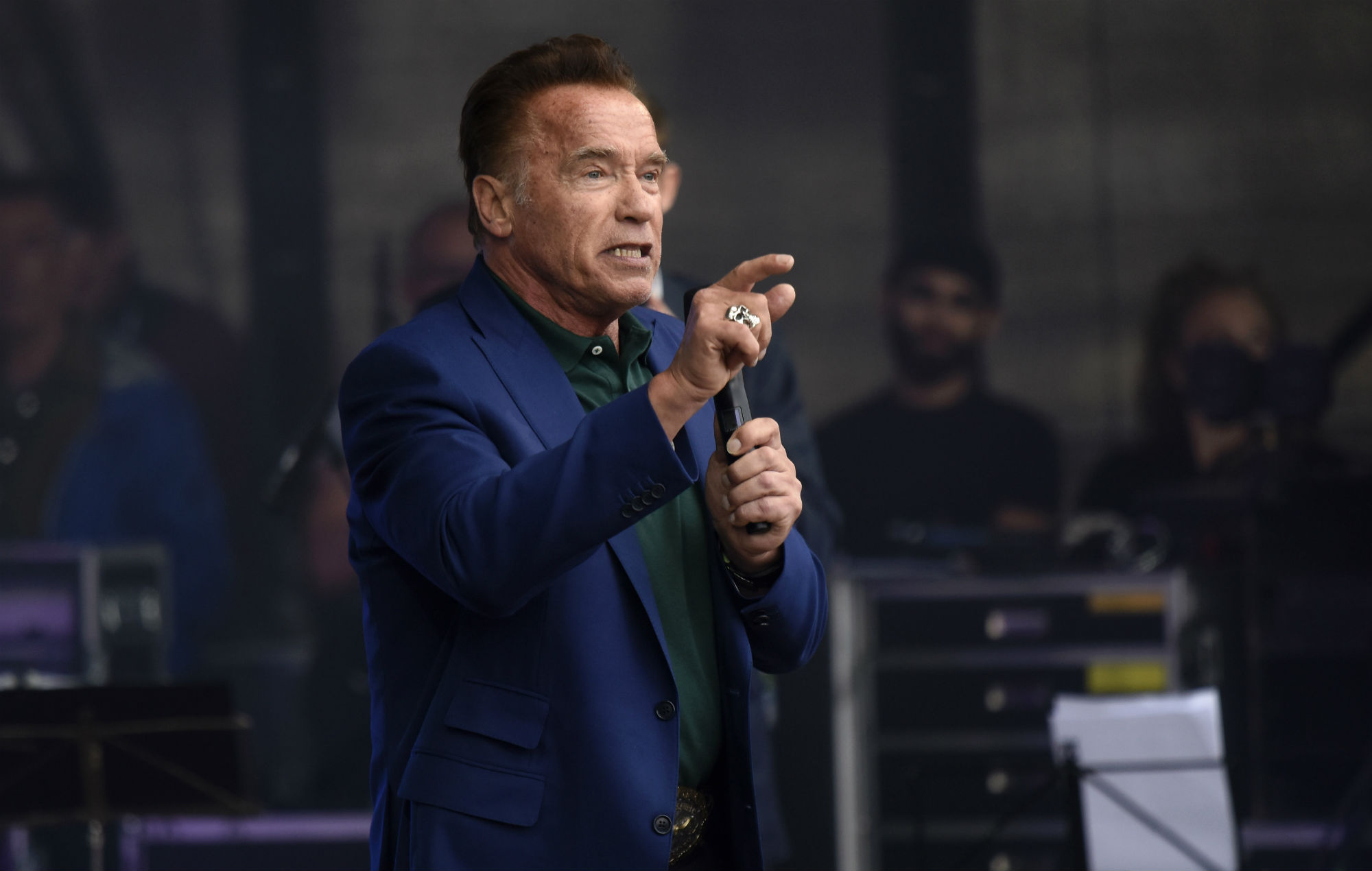 Arnold Schwarzenegger Is Getting His Own Show On Snapchat