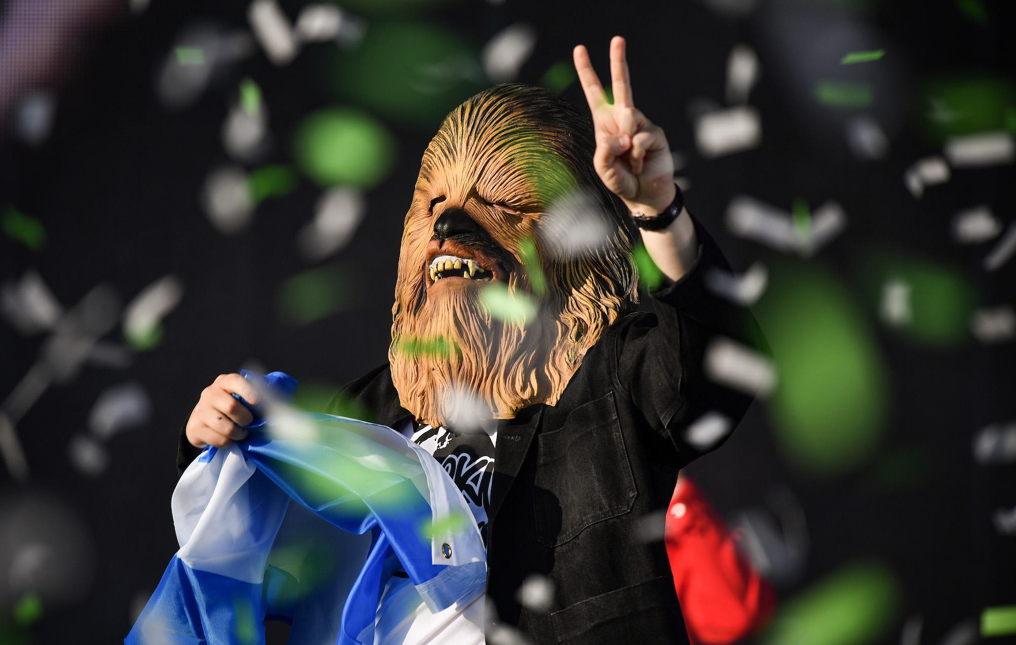 Lewis Capaldi Chewbacca TRNSMT