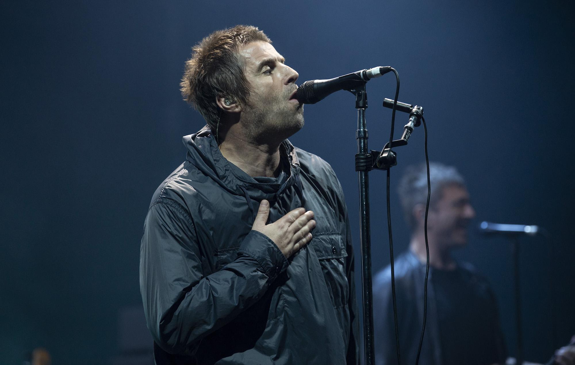 Watch Liam Gallagher change 'Shockwave' lyrics in dig at ...