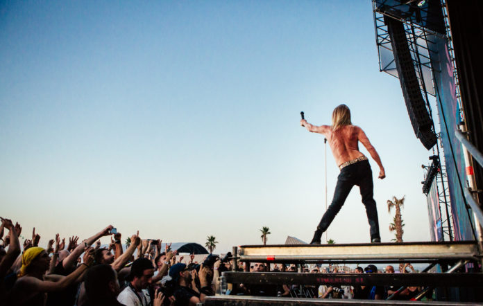 Iggy Pop at Mad Cool Festival 2019
