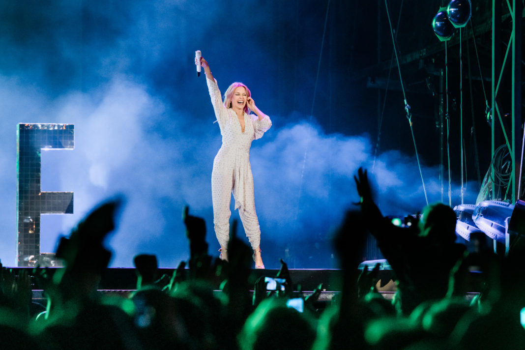 Kylie Glastonbury Lytham Festival
