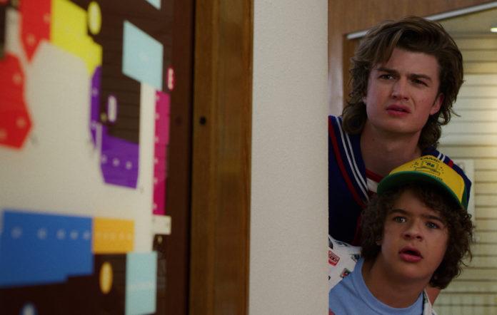 Dustin and Steve Stranger Things