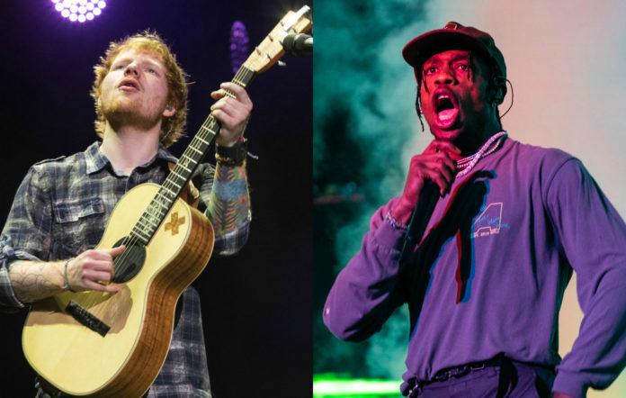 Ed Sheeran, Travis Scott