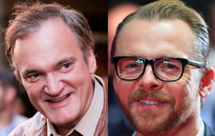 Quentin Tarantino Simon Pegg