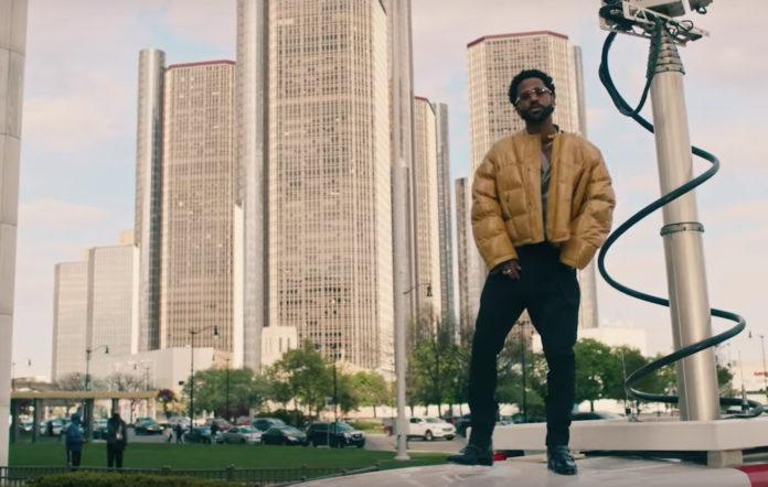 Big Sean Single Again music video Jhene Aiko