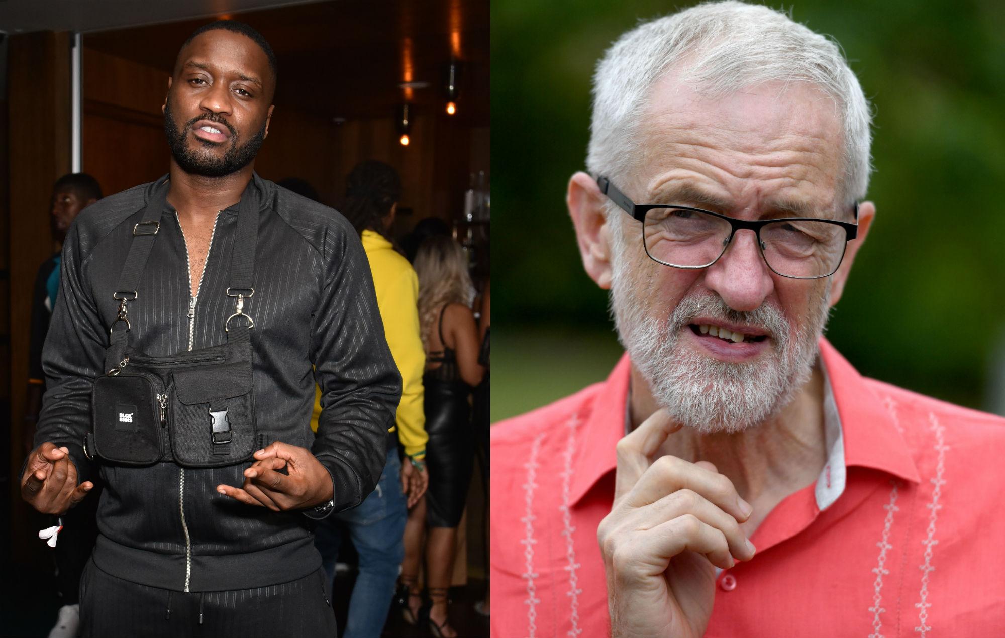 Lethal Bizzle Jeremy Corbyn resign Labour