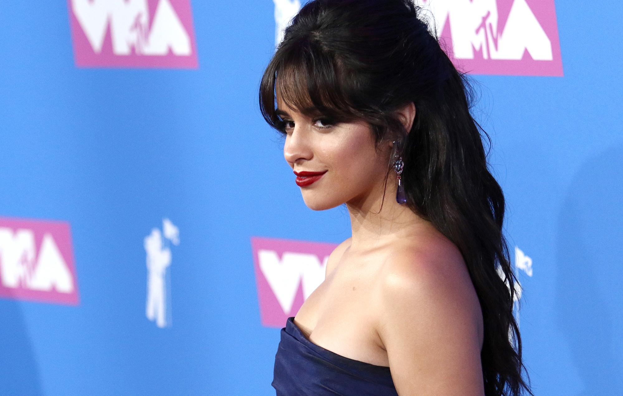 Camila Cabello at the VMAs 2018