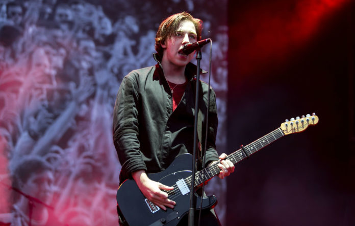 Van McCann of Catfish and the Bottlemen performs live on stage at Cardiff Castle on July 29, 2018 in Cardiff, Wales