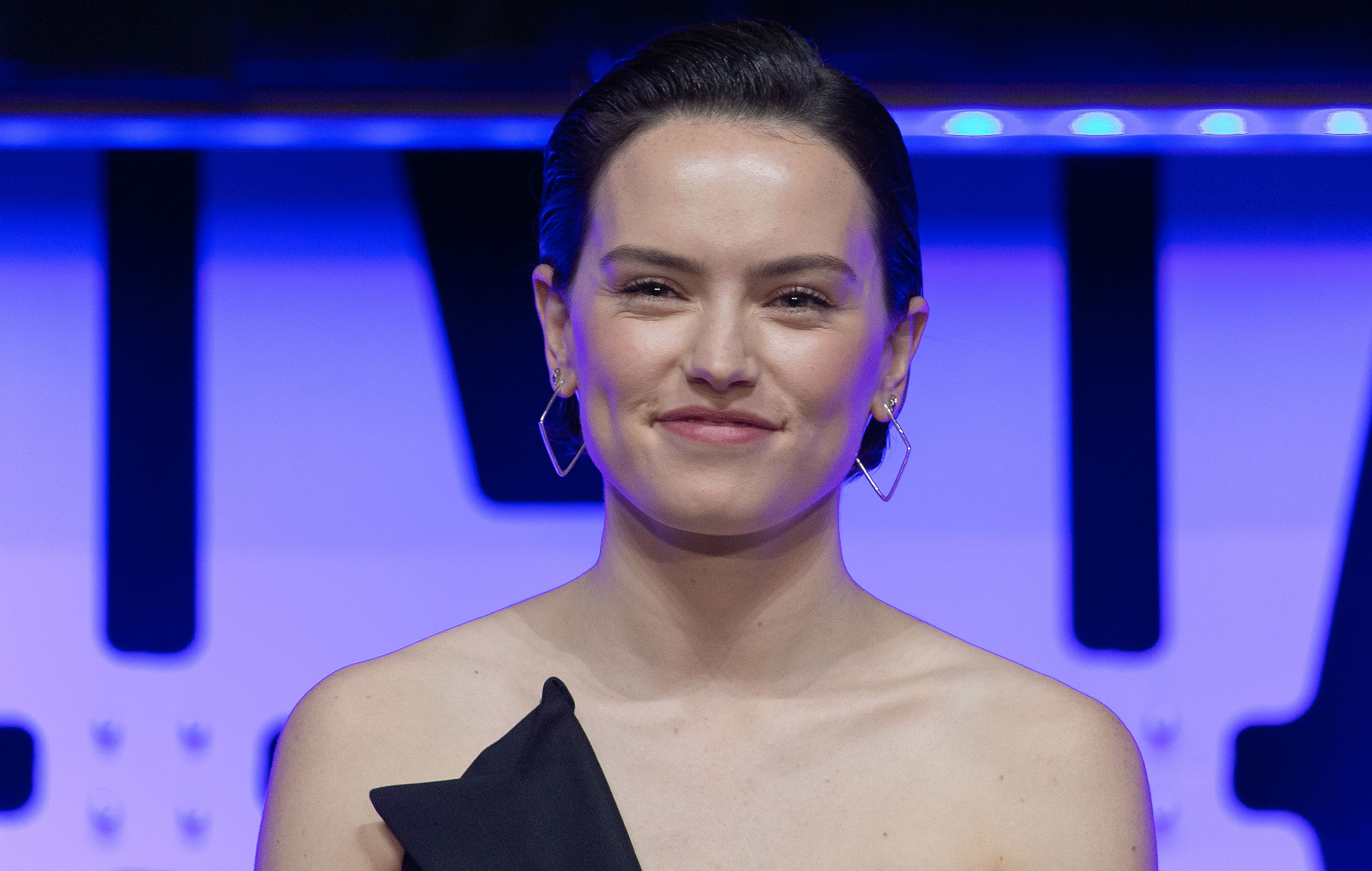 Actress Daisy Ridley appears at the