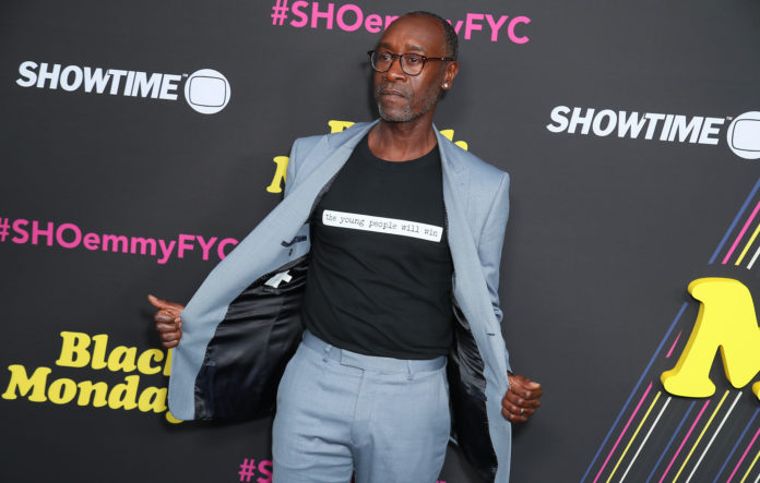 NORTH HOLLYWOOD, CALIFORNIA - MAY 14: Don Cheadle attends FYC Red Carpet Event For Showtimes'