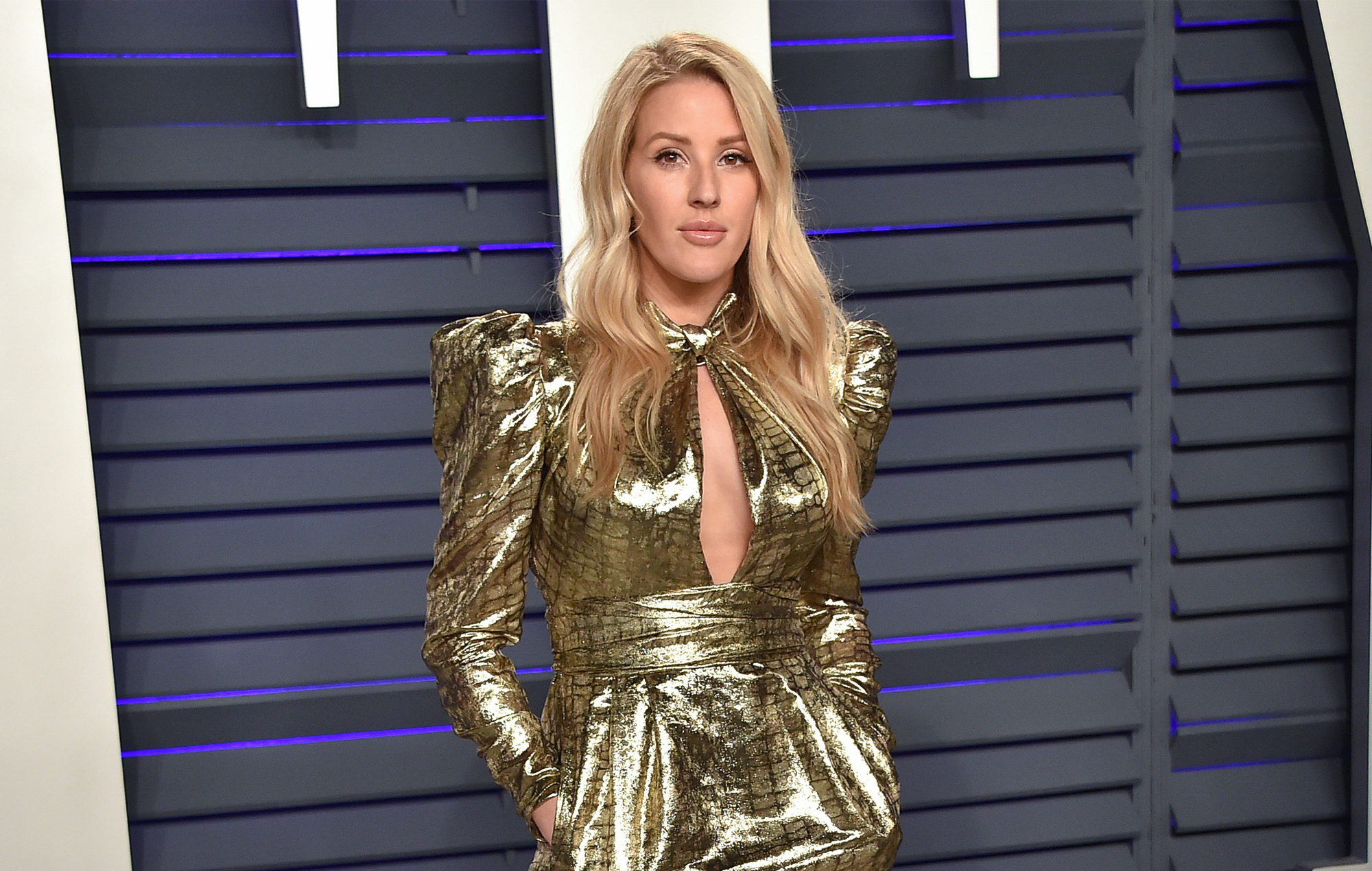 Ellie Goulding at the Vanity Fair Oscar party 2019