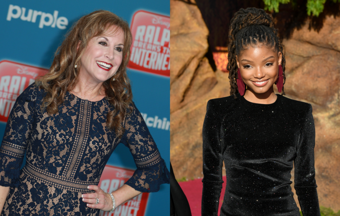 Jodi Benson supports Halle Bailey's casting in The Little Mermaid