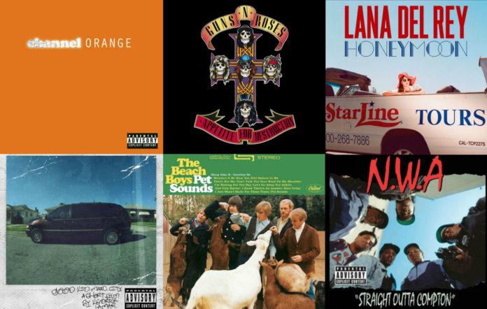 LA albums