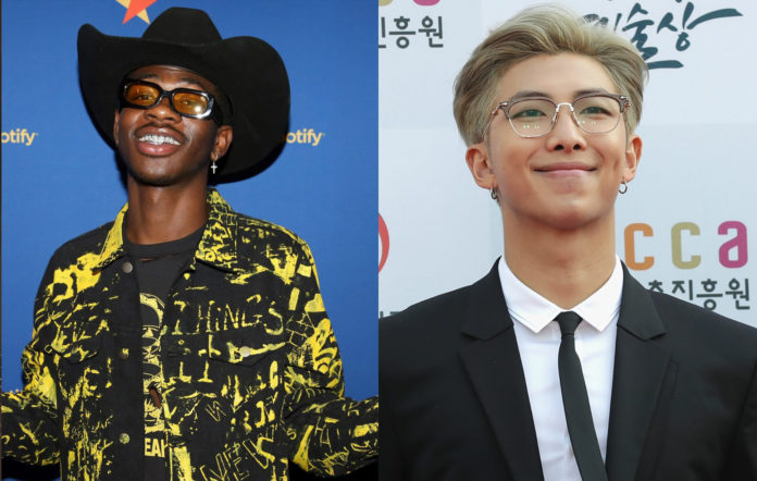 LIl Nas X RM of BTS Seoul Town Road Remix