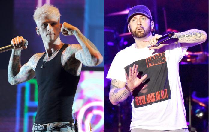 Machine Gun Kelly alludes to Eminem