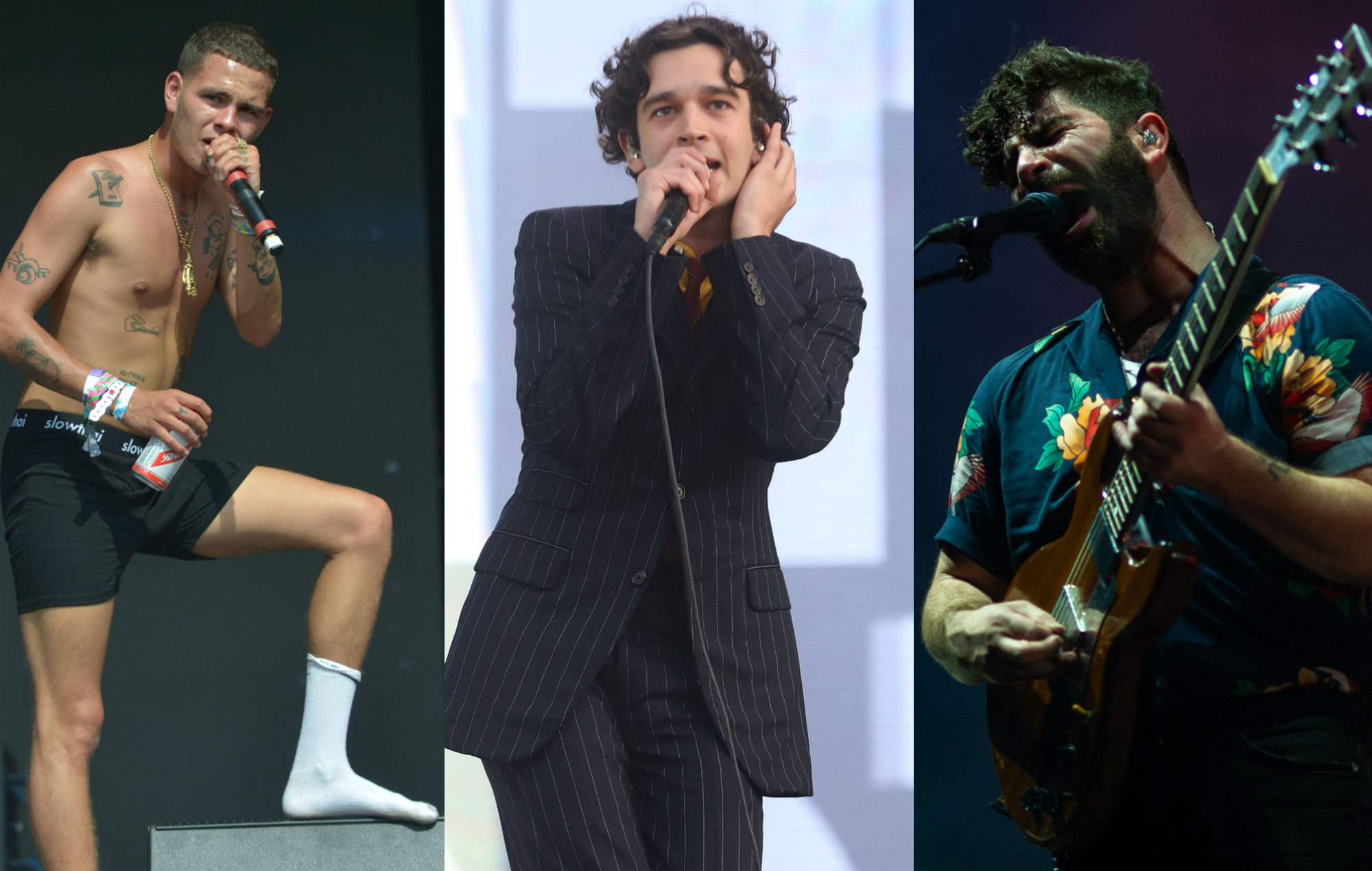 Slowthai / The 1975 / Foals