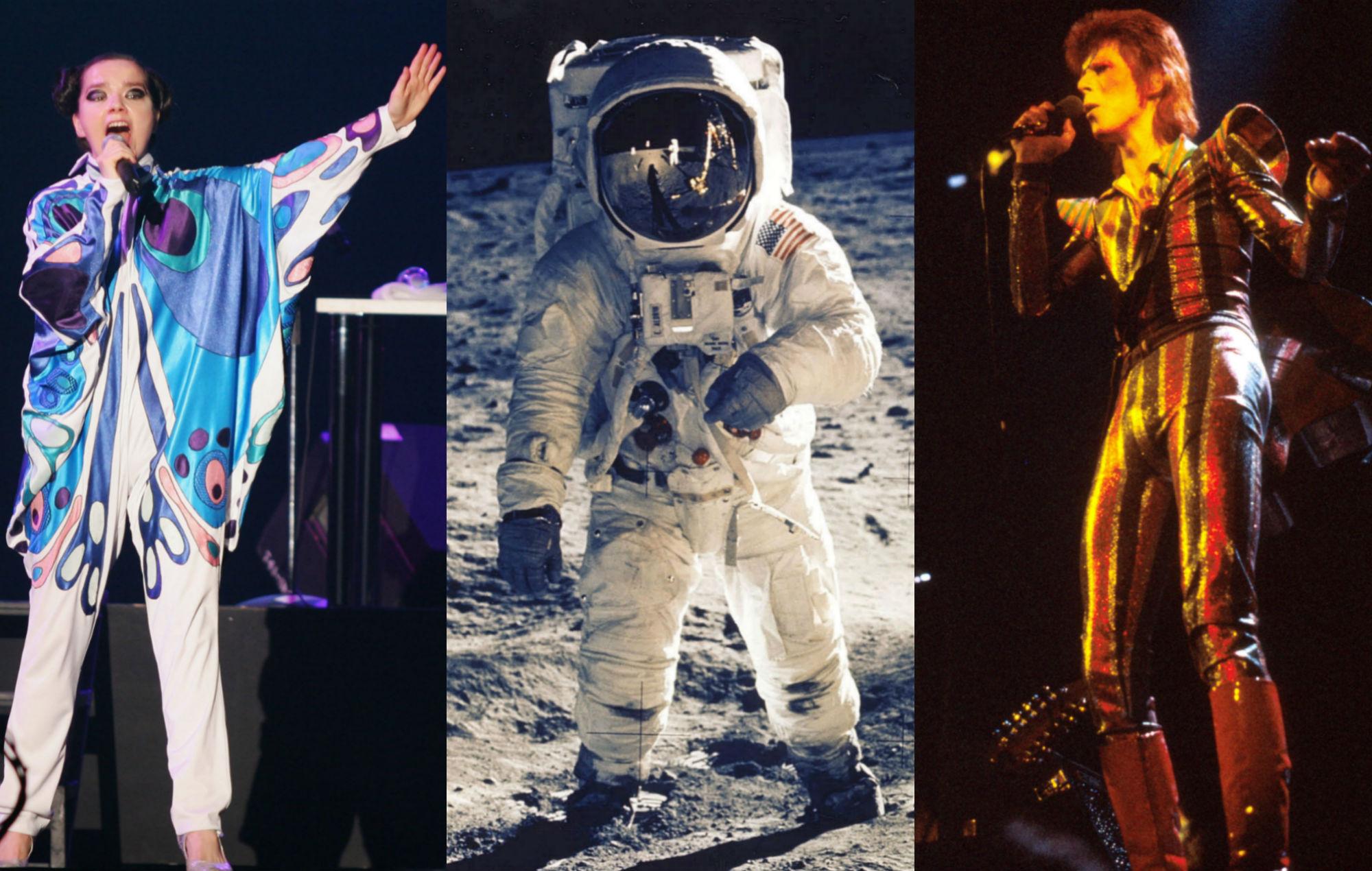 Björk / Neil Armstrong / David Bowie