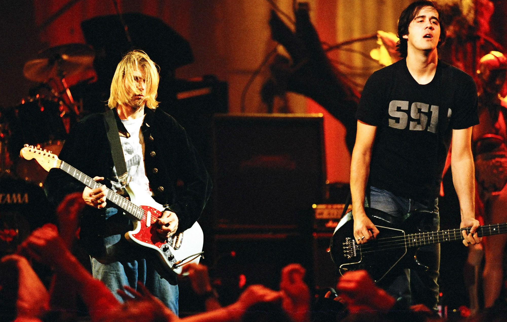 Nirvana Kurt Cobain Krist Novoselic Spotify