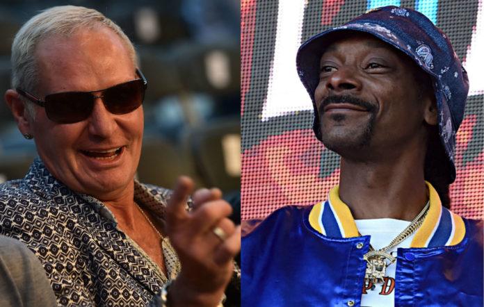 Paul Gascoigne and Snoop Dogg
