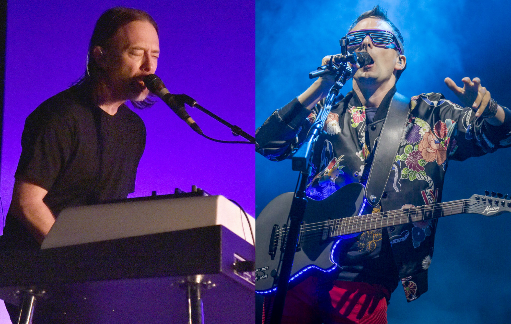Thom Yorke / Matt Bellamy of Muse