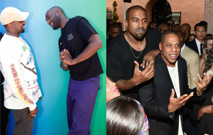 Kanye West and Virgil Abloh / Kanye West and Jay-Z