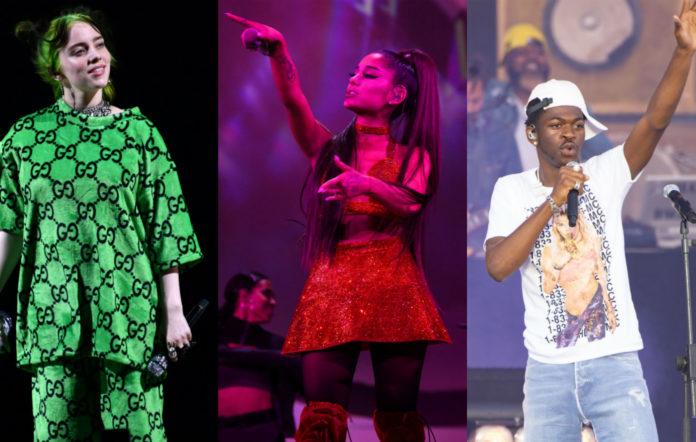 Billie Eilish / Ariana Grande / Lil Nas X