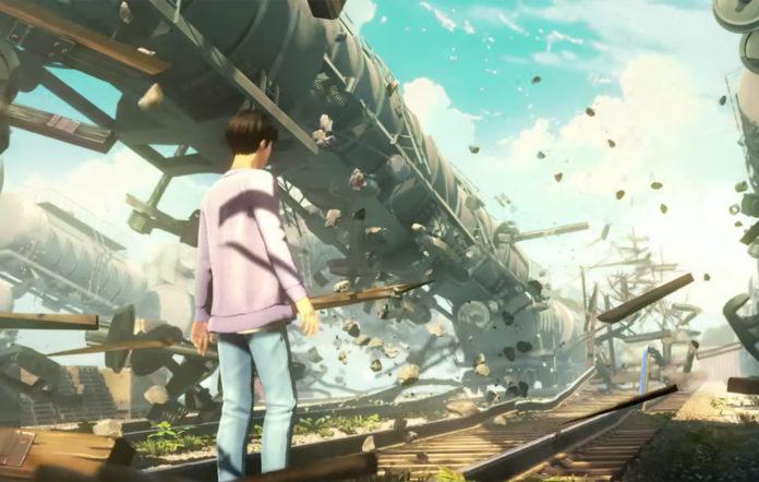 BTS new mobile game concept art film big hit entertainment netmarble