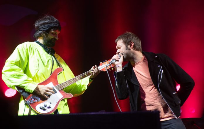 Sergio Pizzorno and Tom Meighan of Kasabian