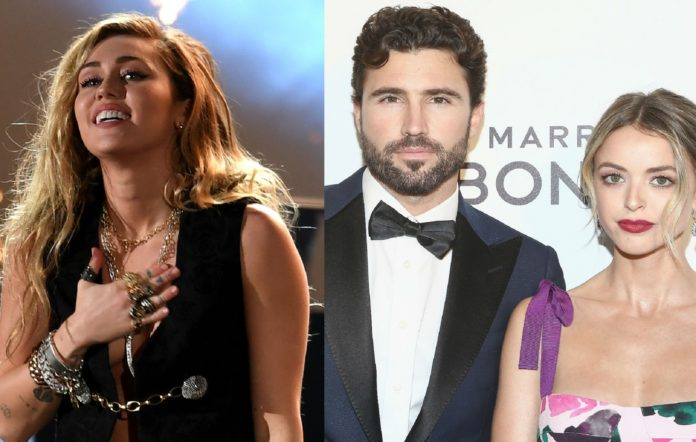 Miley Cyrus, Brody Jenner and Kaitlynn Carter