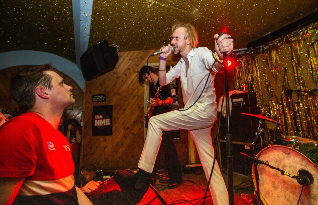 Saint Leonard at Club NME