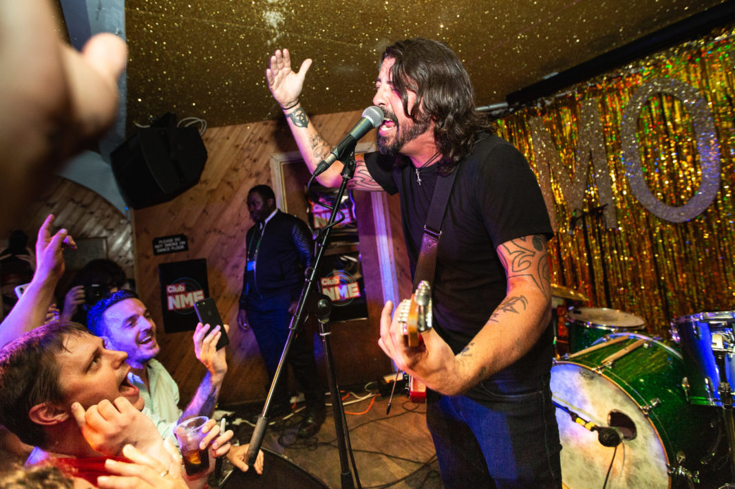 Dave Grohl at Club NME