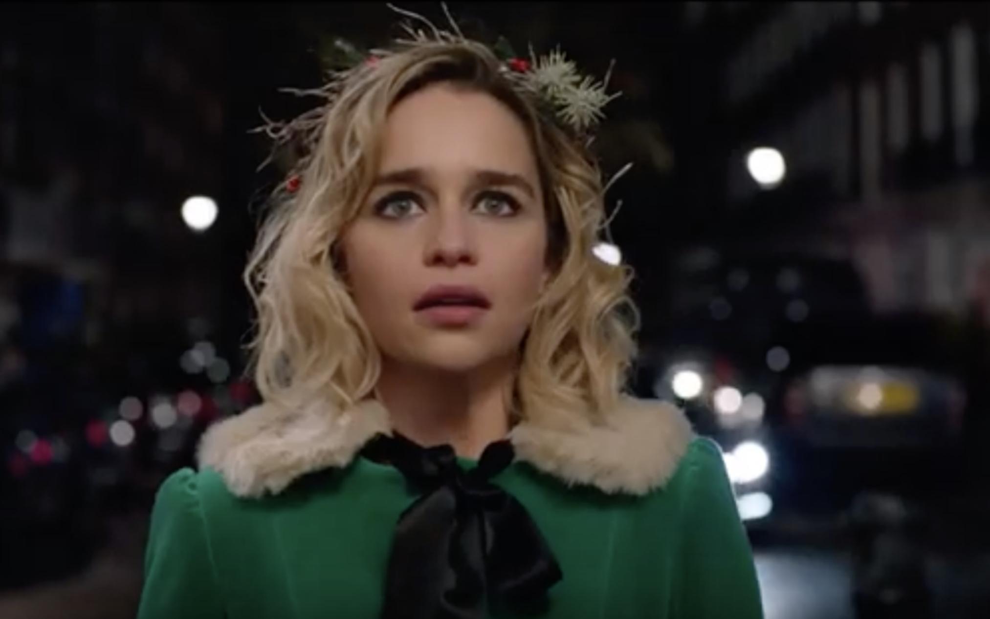 Emilia Clarke; Game of Thrones; Last Christmas; George Michael