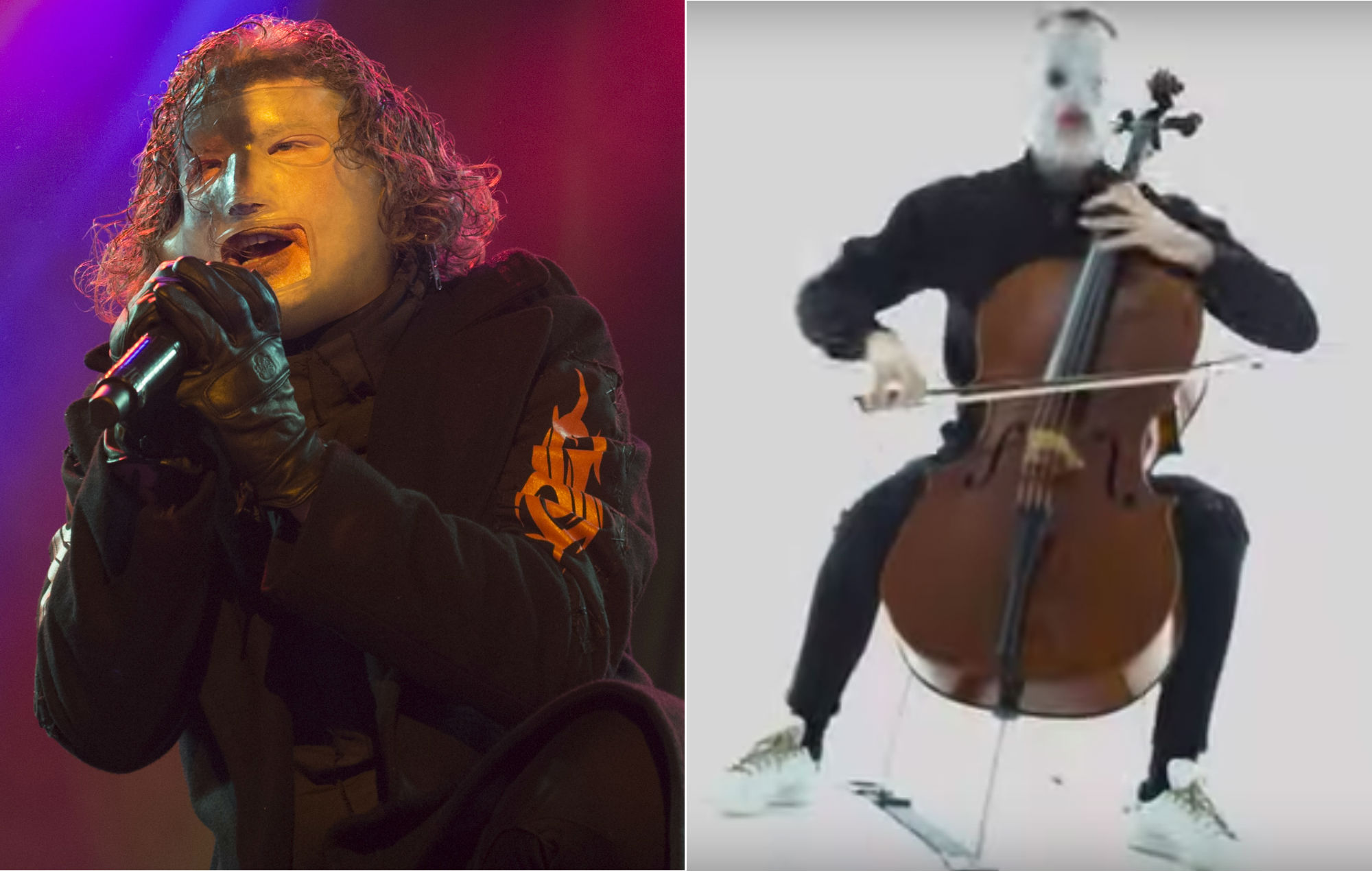 Watch masked classical cellist cover Slipknot – with chilling results