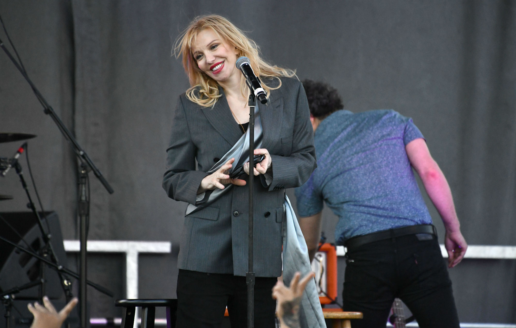 Courtney Love performing at YOLA Día festival, 2019