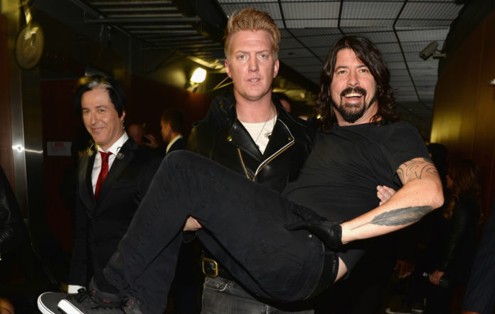 Josh Homme, Dave Grohl